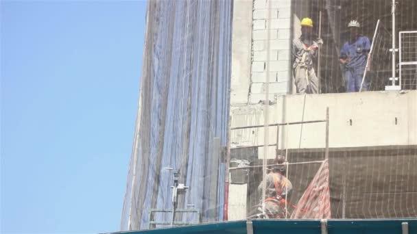 Výstavba na třídě Paulista Avenue