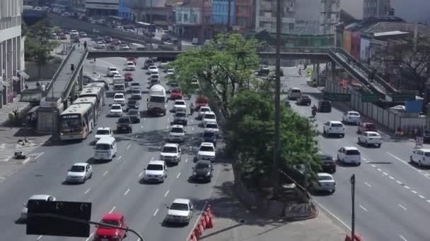 Automobily ve městě Sao Paulo