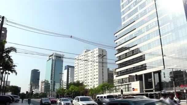 Brigadeiro Faria Lima Street Sao Paulo