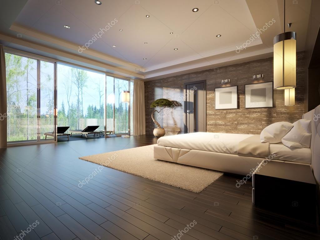 Inrichting Grote Slaapkamer : Moderne slaapkamer interieur u stockfoto medvedsky kz