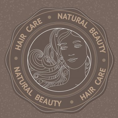 Face, hair and text Hair Care Natural Beauty.