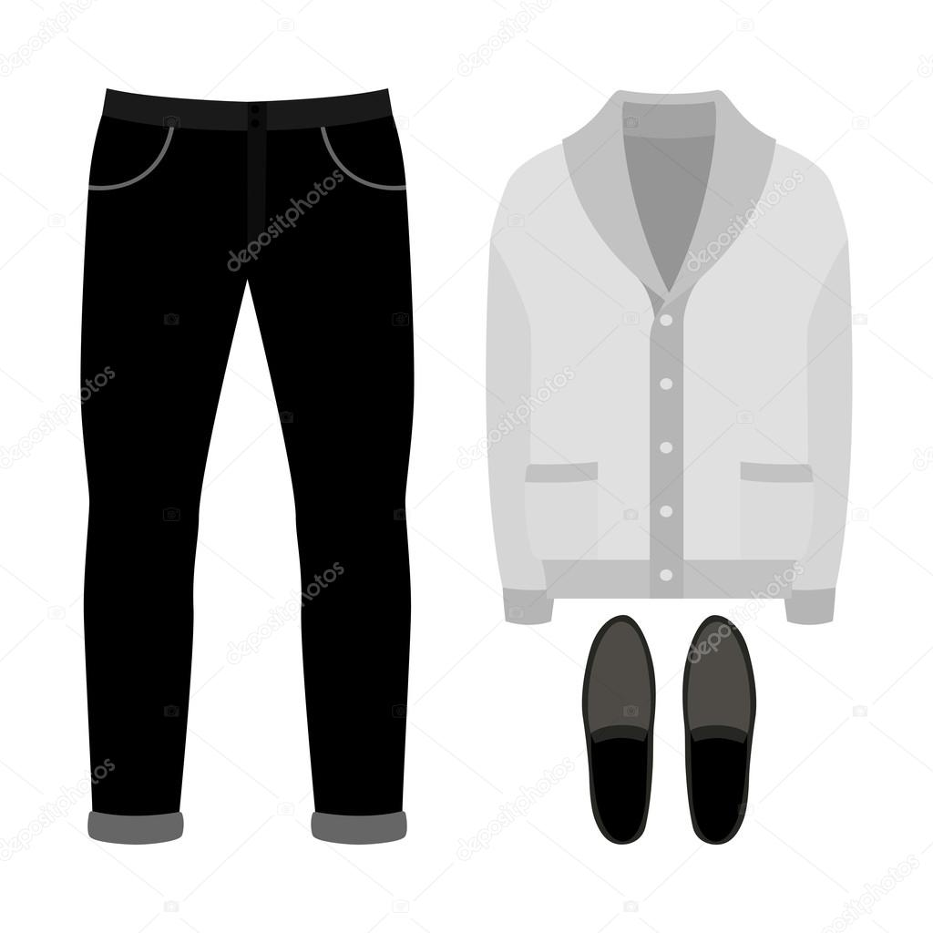 4fa16da3d Conjunto de ropa de moda hombres. Traje de chaqueta de hombre ...