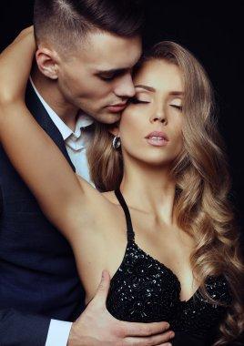 Beautiful sexy couple - love story