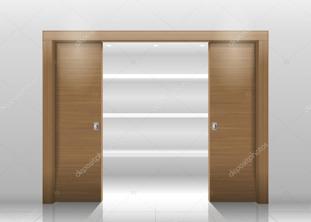 Drzwi Przesuwne Szafa Grafika Wektorowa C Denisik11 119200496