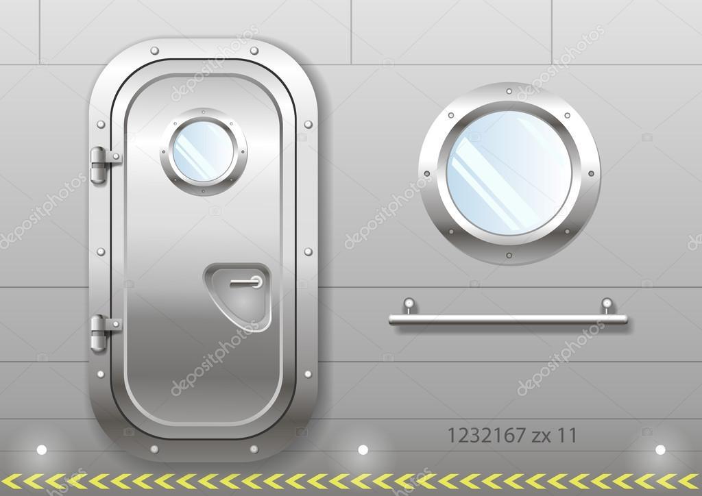Kap Ve Pencere Geminin Stok Vekt R Denisik11 122657418
