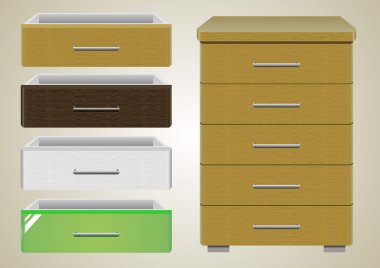 Chest of drawers 1.