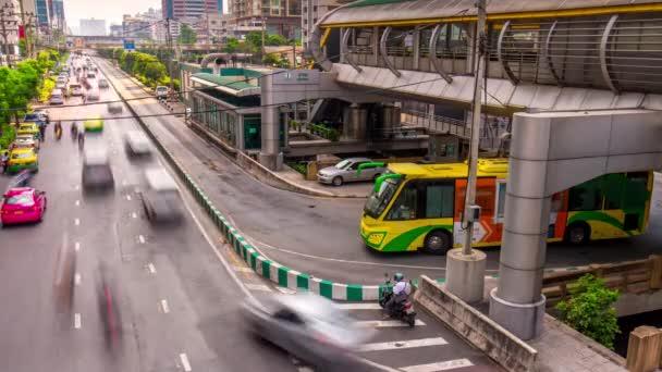 rozcestí doprava v Bangkoku ulice
