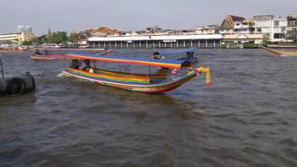 bangkok famous river taxi boat