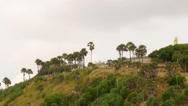 Panorama z kopců Phuket ostrov Bay