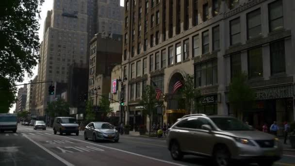 pouliční život v new Yorku