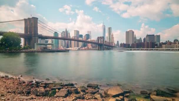 Brooklyn zálivu manhattan most