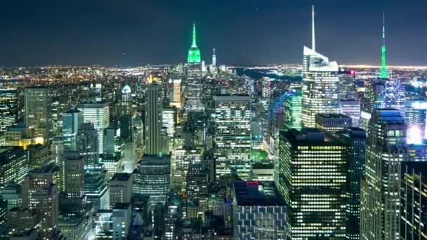 noční světlo Manhattan říše