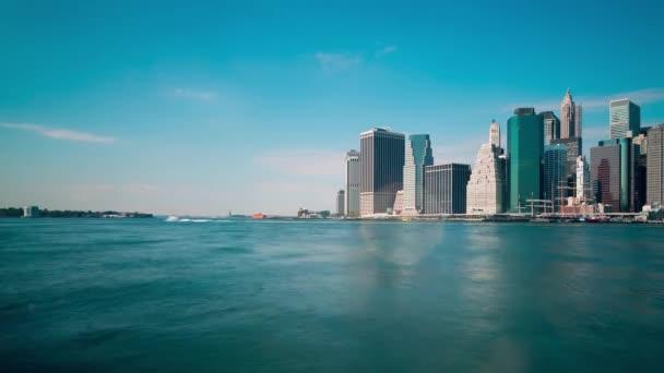 Dowtown denní světlo Manhattan Bay