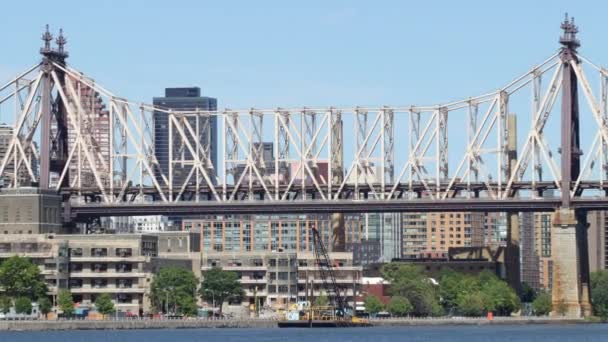 Panorama mostu Queensboro