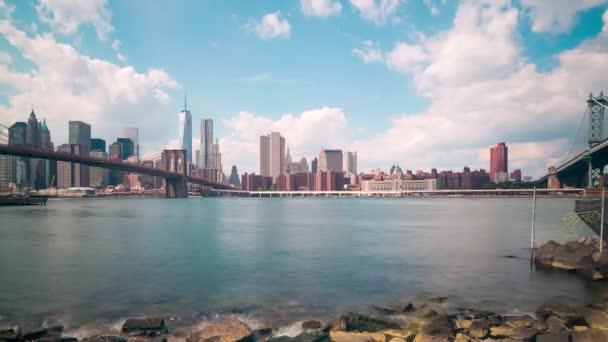 Brooklyn bay manhattan view