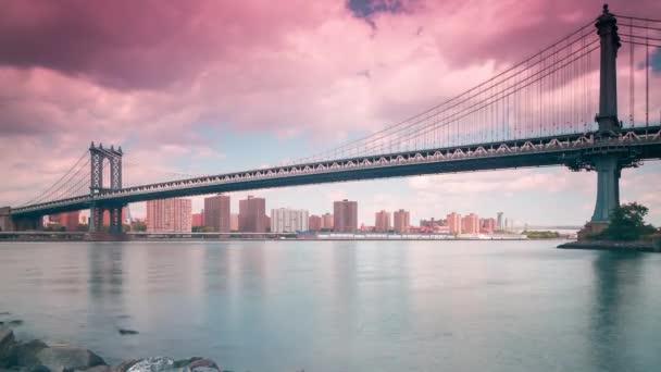 New York slunce světelné křižovatky
