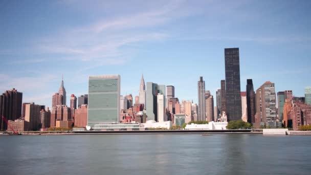 Giorno di Manhattan baia