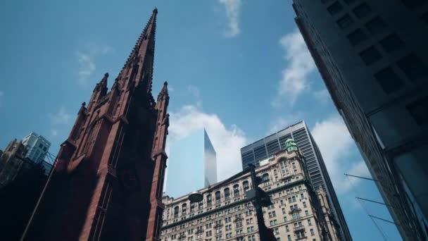 Broadway buildings in New York