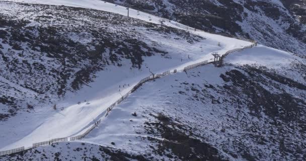 Mountain range resort