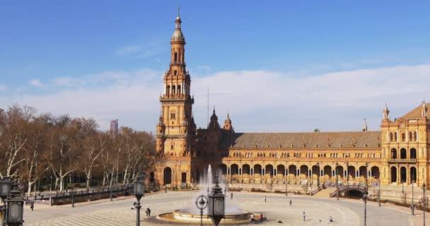Famous Tourist Plaza De Espana