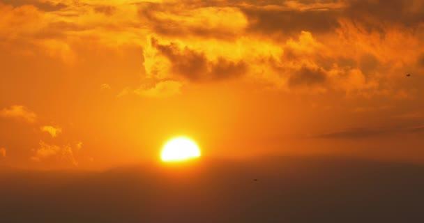 malaga sonnenuntergang himmel