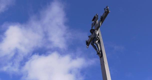 Kék ég ortodox kereszt