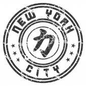 Photo T shirt New York Character Power grunge
