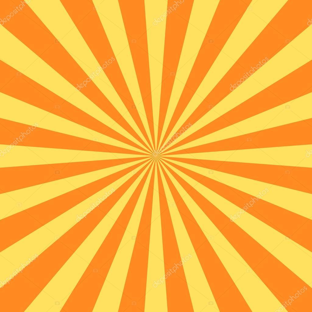yellow rays poster star burst � vetor de stock 169 alonas
