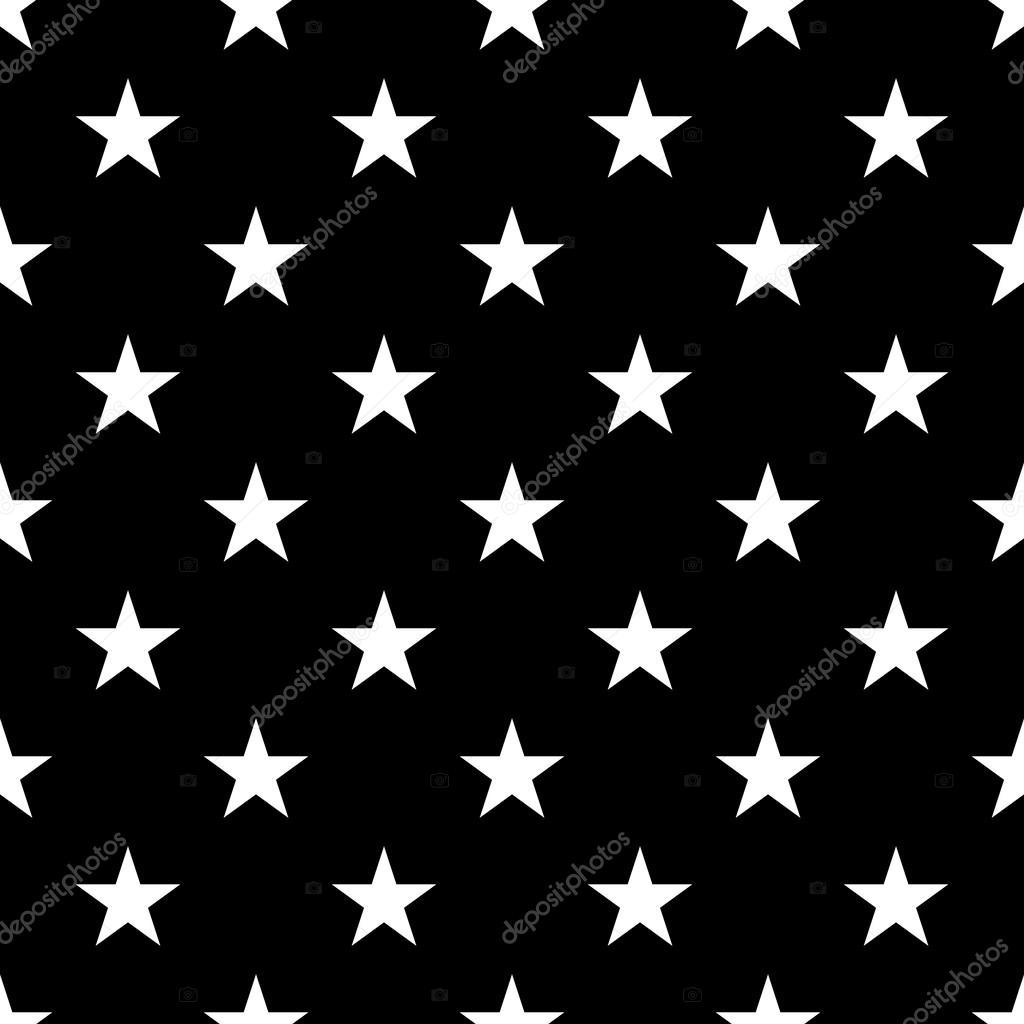 Yıldız Seamless Modeli Küçük Beyaz Stok Vektör Alonas 119758228