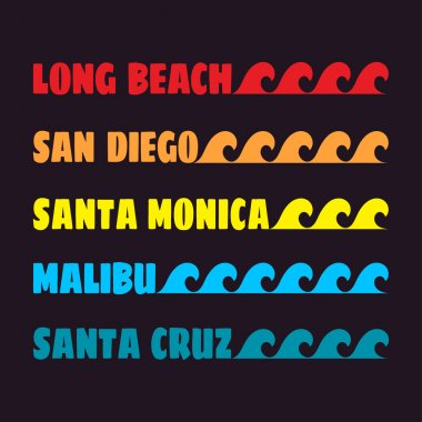 beach color design