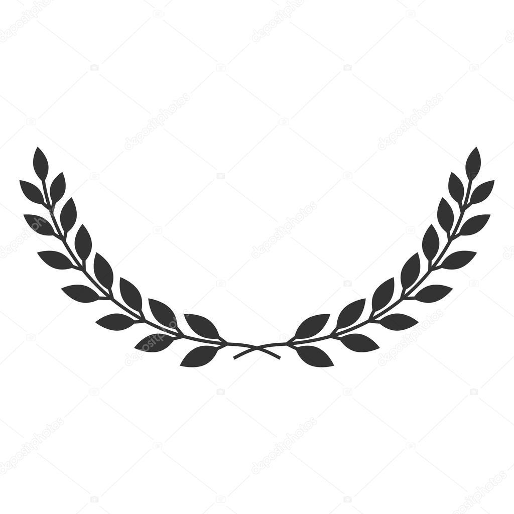 laurel wreath symbol stock vector  u00a9 alona s 93295256 olive branch clip art images olive branch clip art images