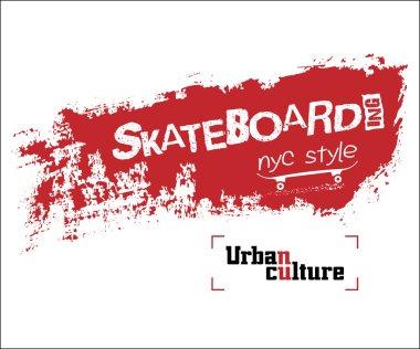 NYC skateboarding t-shirt