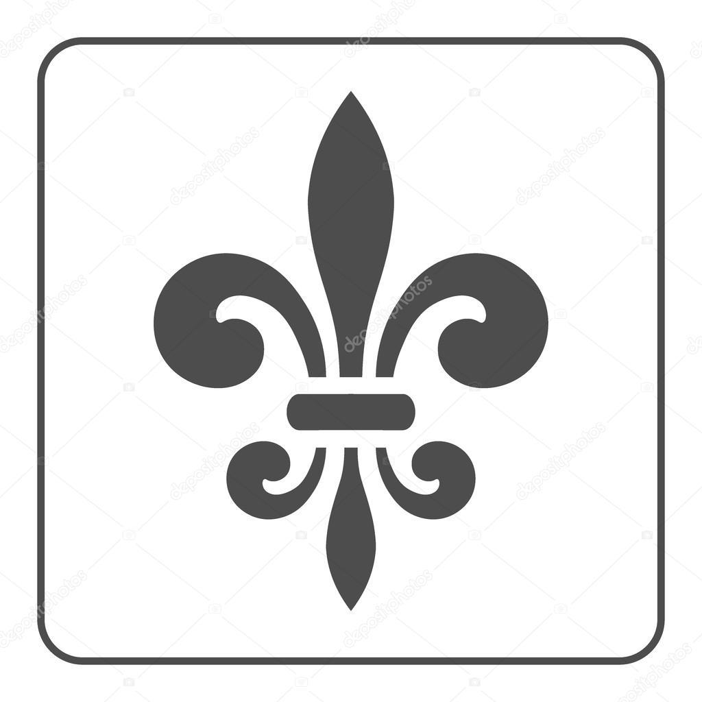 Fleur De Lis Symbol Vector Stock Vector Alonas 94587590