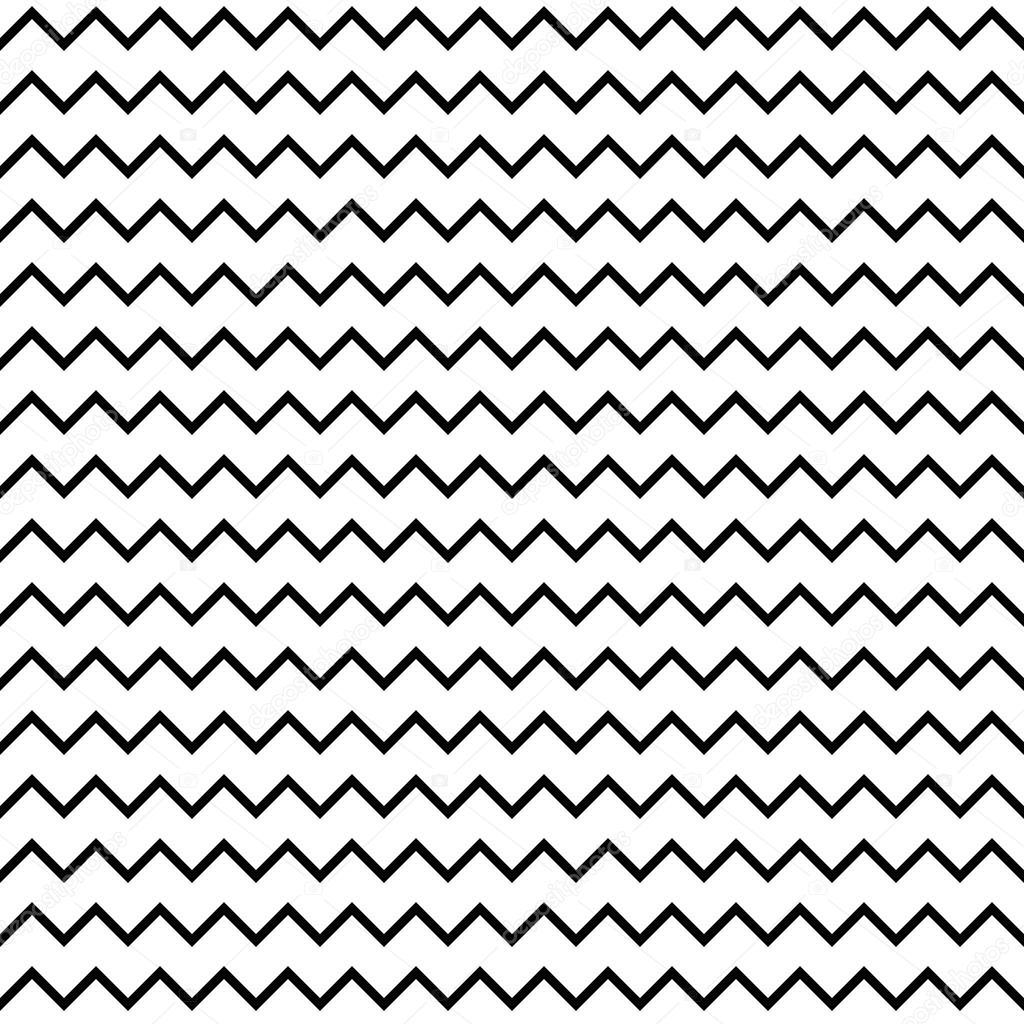 Seamless Zigzag Pattern Universal Stylish Seamless