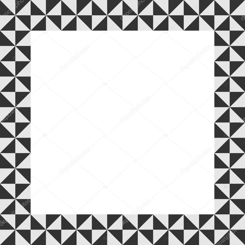 Marco con diseño geométrico. Moderno fondo para su texto. Marco de ...