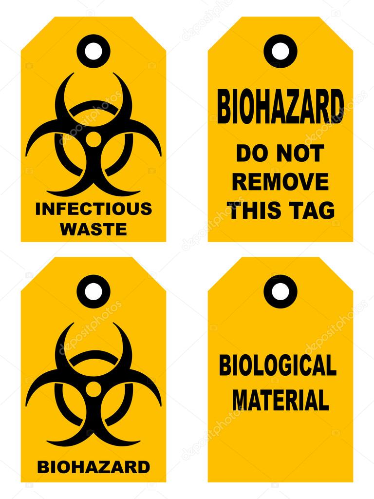 Biohazard symbol sign of biological threat alert black yellow biohazard symbol sign of biological threat alert black yellow signage text isolated set of tags for bags box vector illustration do not remove this tag biocorpaavc Image collections