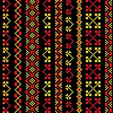 Traditional embroidery khokhloma