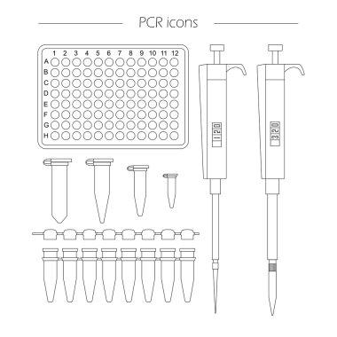 pcr icon outline