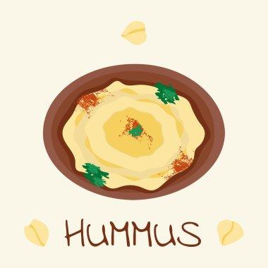 hummus arabic food from chickpea
