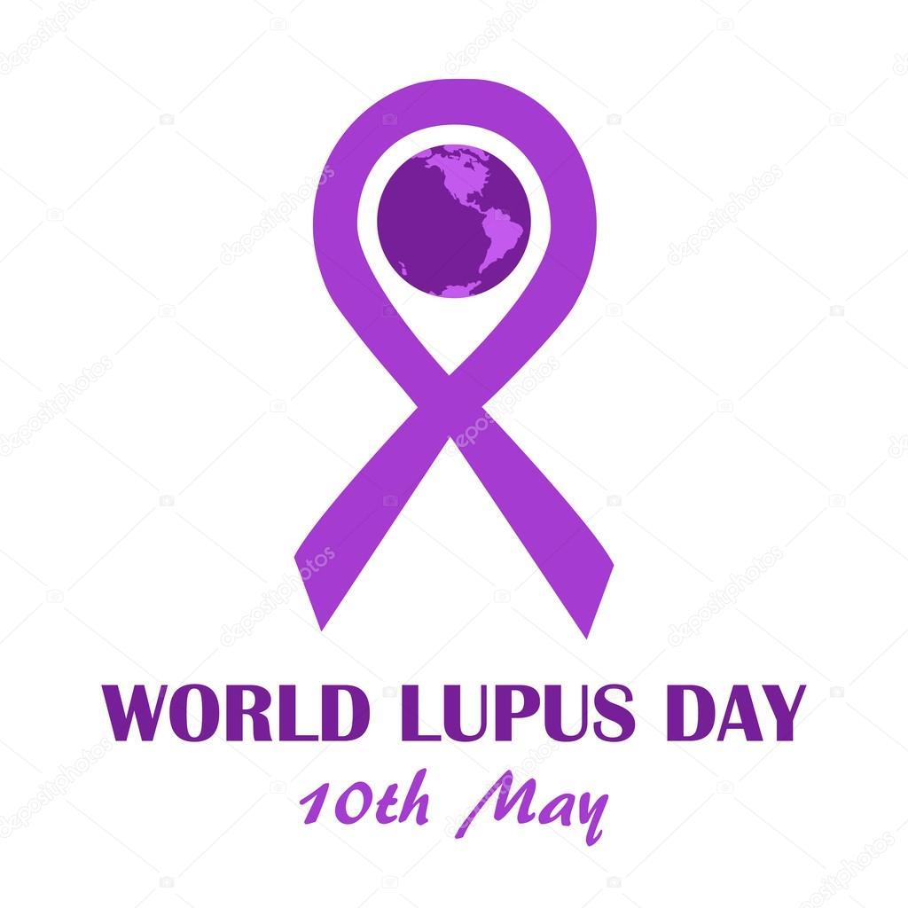 World Lupus Day May Stock Vector Greenvector 108652058