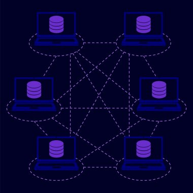 distributed database blockchain