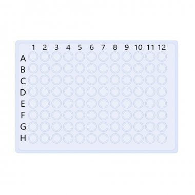 plastic  plate for molecular biology research