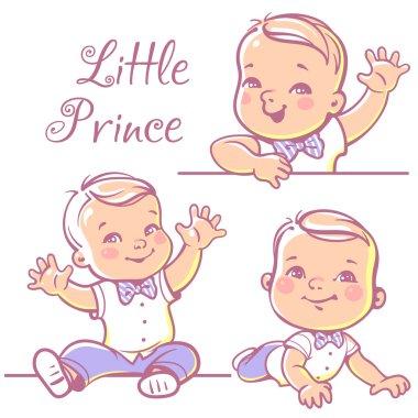 Little baby boy set.