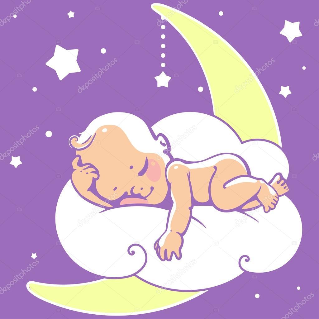 ребенок спящий картинка