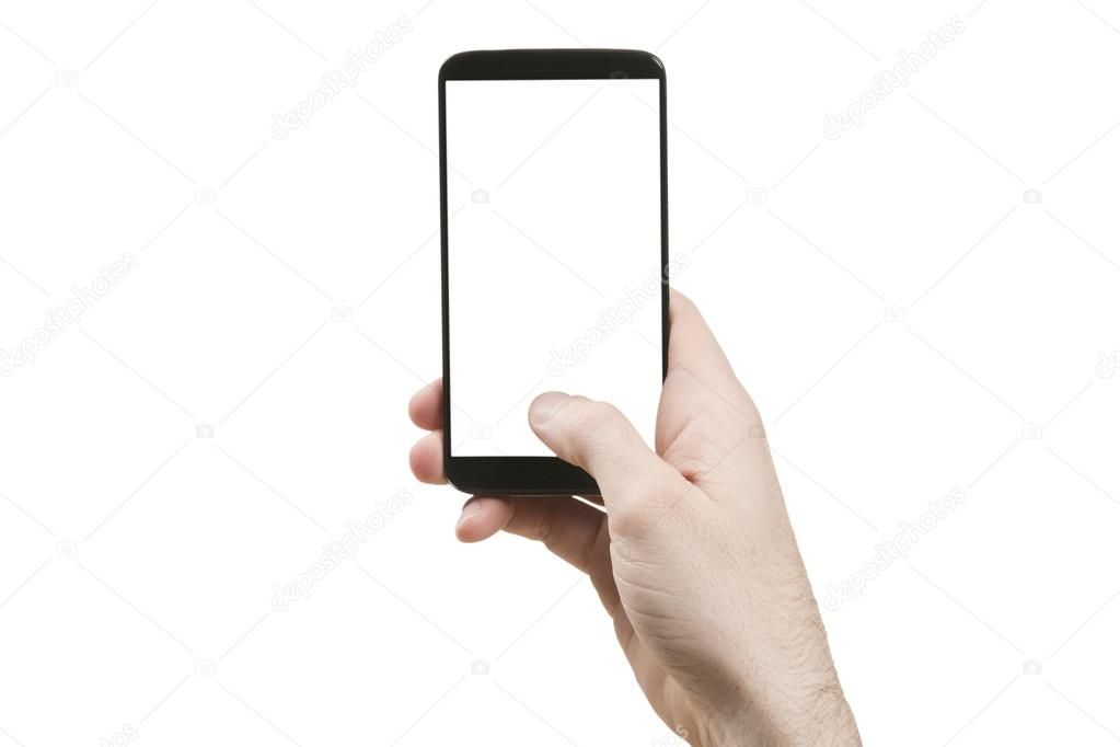 Holding generic smart phone vertically
