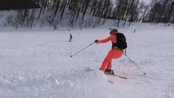 Vzrušující lyžování na svazích Rosa Khutor..