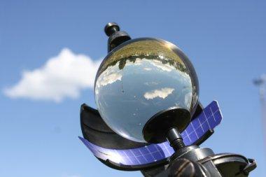 Glass ball sky