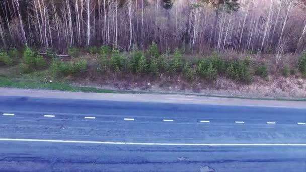 nákladních aut na dálnici