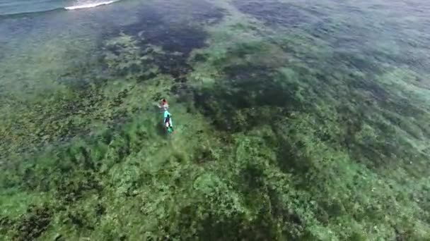 Szörfösök az Indiai-óceánon