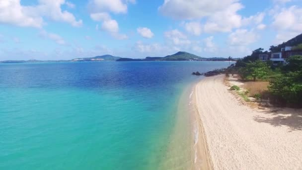 View of nice tropical beach